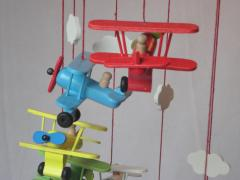 Mobiel spiraal vliegtuigen