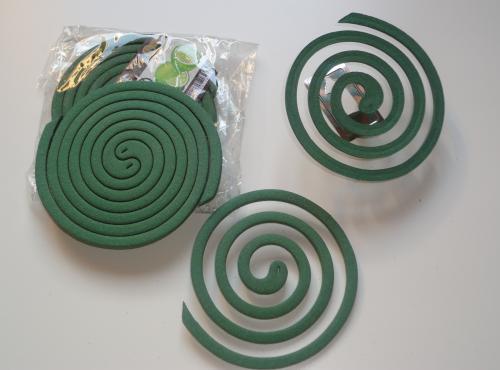 Wierook coil/ Eucalyptus & sinaasappelschil