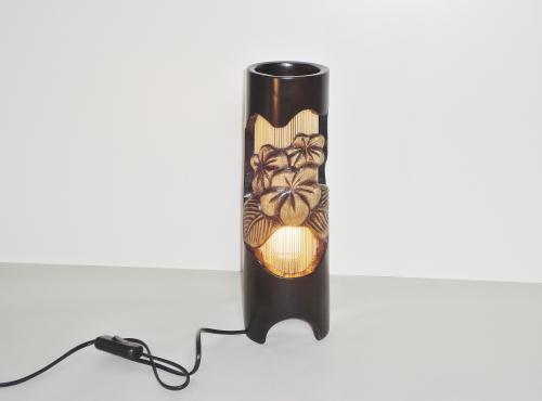 Sfeerlamp hout en bamboe