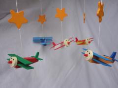 Mobiel 5 vliegtuigjes